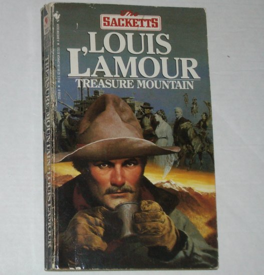 Treasure Mountain by LOUIS L'AMOUR The Sacketts Series 1986