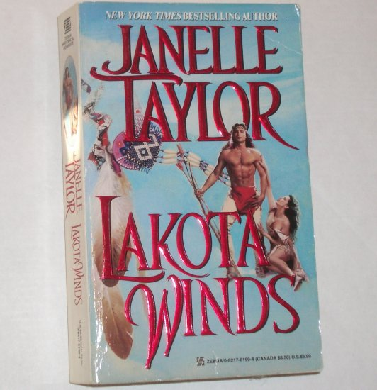 Lakota Winds by JANELLE TAYLOR Historical Indian Romance 1999