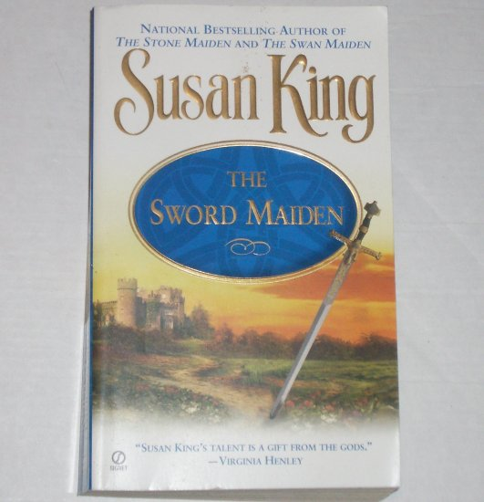 The Sword Maiden by SUSAN KING Historical Scottish Medieval Romance 2001