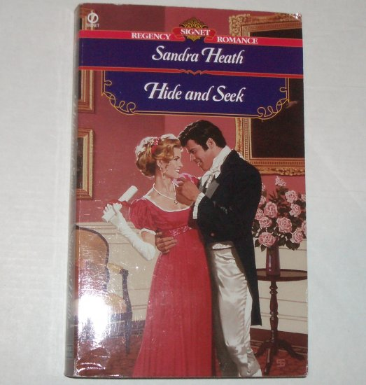 Hide and Seek by SANDRA HEATH Slim Signet Historical Regency Romance 2001