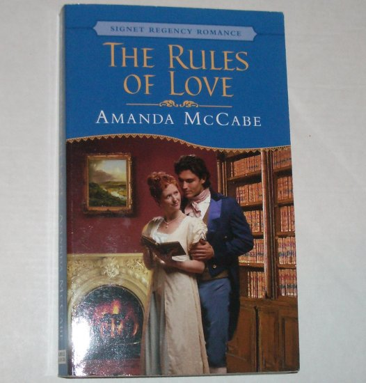 The Rules of Love by AMANDA McCABE Signet Historical Regency Romance 2004