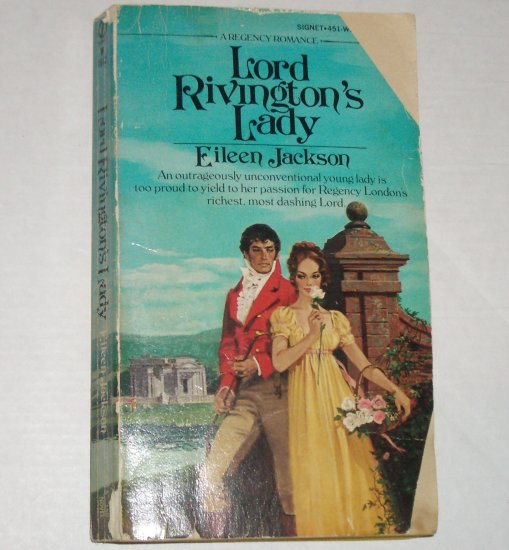 Lord Rivington's Lady by EILEEN JACKSON Vintage Signet Regency 1977