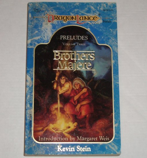 Brothers Majere by KEVIN STEIN DragonLance Preludes Volume Three 1989