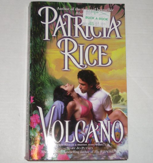 Volcano by PATRICIA RICE Romance 1999