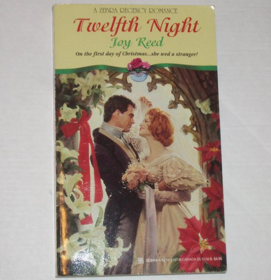 Twelfth Night by JOY REED Historical Regency Romance 1995