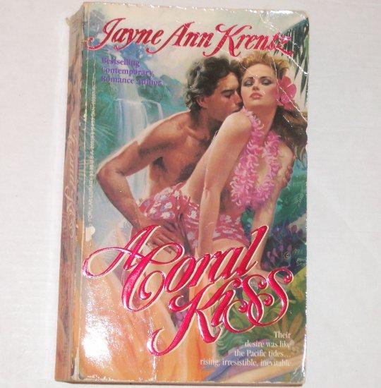 A Coral Kiss by JAYNE ANN KRENTZ Romance 1992