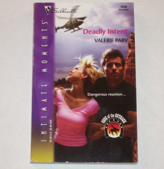 Deadly Intent by VALERIE PARV Silhouette Intimate Moments 1335 Dec04 Code of the Outback