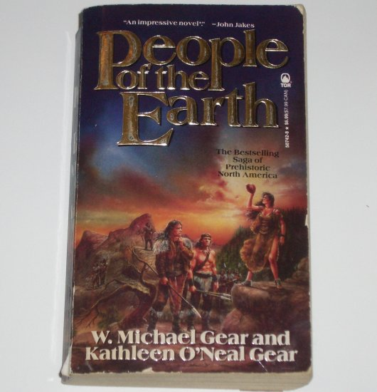 People of the Earth by W MICHAEL and KATHLEEN O'NEAL GEAR Historical Fiction 1992