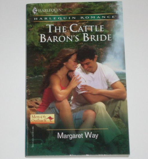 The Cattle Baron's Bride by MARGARET WAY Harlequin Romance Men of the Outback 2006