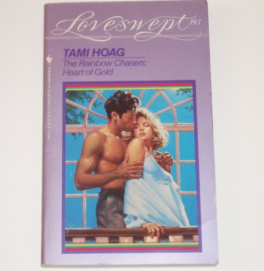 Heart of Gold by TAMI HOAG Loveswept No 393 The Rainbow Chasers series 1990