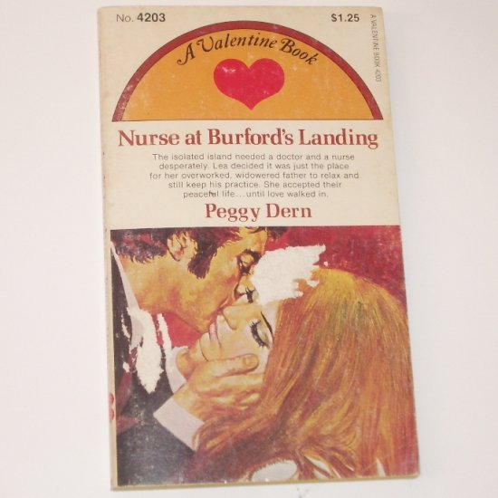 Nurse at Burford's Landing by PEGGY DERN Valentine Book No 4203 1966