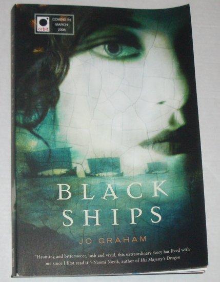 Black Ships by JO GRAHAM 2008 Advance Reader Copy Ancient Greece Fantasy