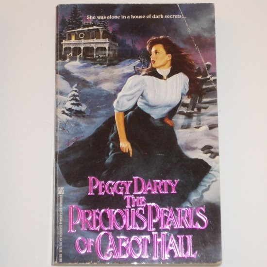 The Precious Pearls of Cabot Hall by PEGGY DARTY Gothic Romance 1992