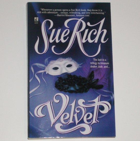 Velvet by SUE RICH Historical Romance Paperback 1998