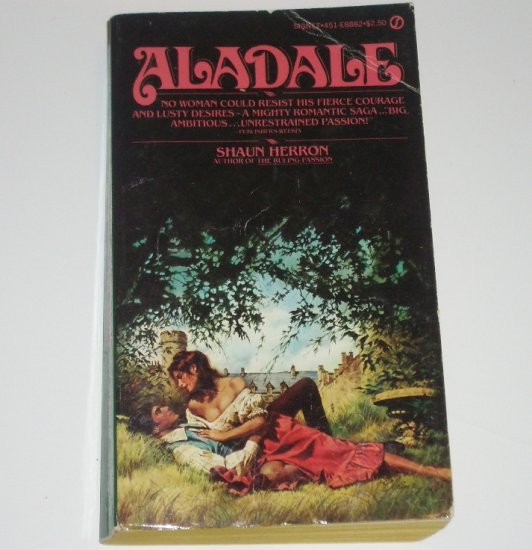 Aladale by SHAUN HERRON Historical Scottish Romance 1979