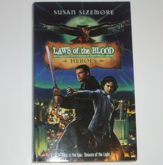 Laws of the Blood Heroes by SUSAN SIZEMORE 2003 Vampire Fantasy