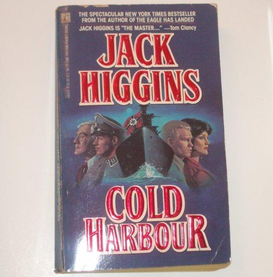 Cold Harbour by JACK HIGGINS Craig Osbourne Spy Thriller 1990