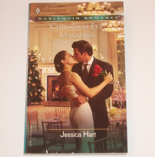 Christmas Eve Marriage by JESSICA HART Harlequin Romance 3820 Nov04