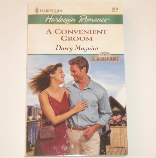 The Convenient Groom by DARCY MAGUIRE Harlequin Romance 3809 Aug 2004 The Wedding Planners