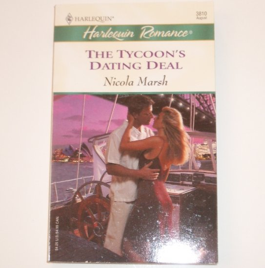 The Tycoon's Dating Deal by NICOLA MARSH Harlequin Romance 3810 Aug 2004