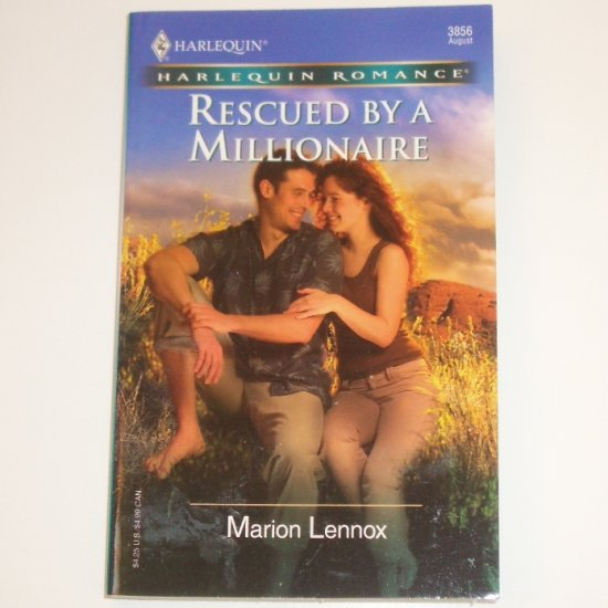 Rescued by a Millionaire by MARION LENNOX Harlequin Romance 3856 Aug 2005