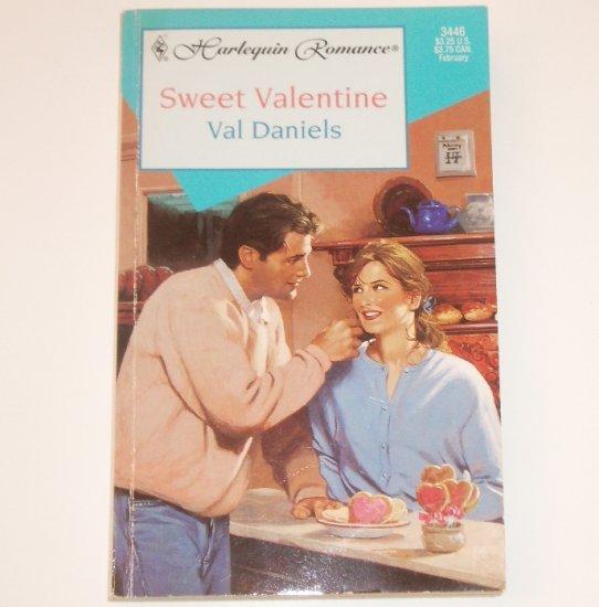 Sweet Valentine by VAL DANIELS Harlequin Romance 3446 Feb 1997