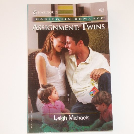 Assignment: Twins by LEIGH MICHAELS Harlequin Romance 3836 Mar 2005