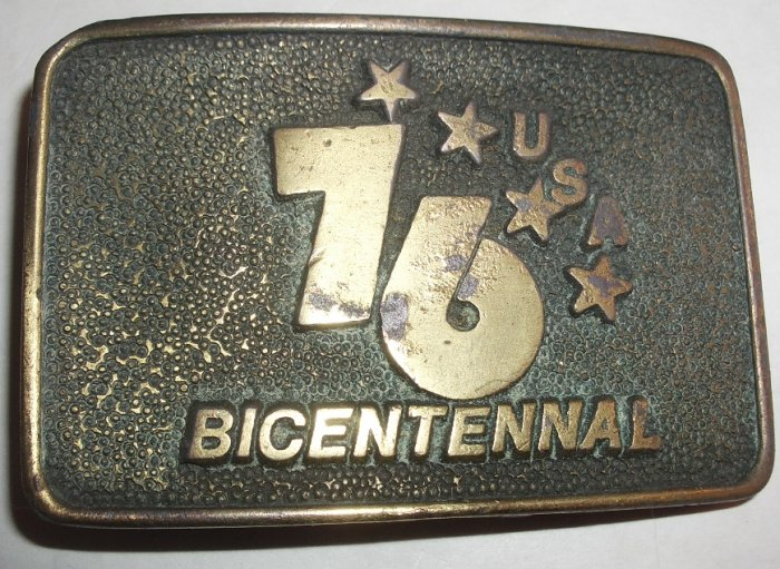 US Bicentennial Belt Buckle 1976