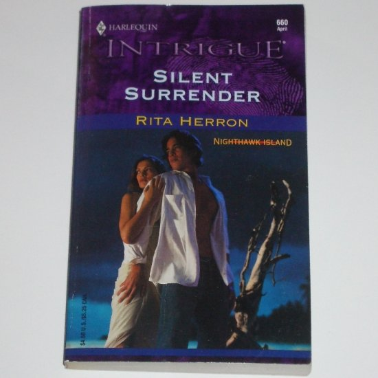 Silent Surrender by Rita Herron Harlequin Intrigue 660 Apr02 Nighthawk Island