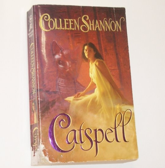 Catspell by COLLEEN SHANNON Love Spell Paranormal Romance 2006 Shelley Holmes Series