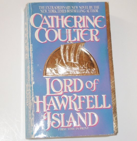 Lord of Hawkfell Island CATHERINE COULTER Historical Medieval Viking Romance 1993 The Viking Series