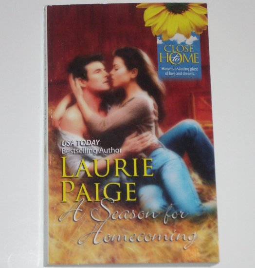 A Season for Homecoming by LAURIE PAIGE Romance 1990 Close to Home Series