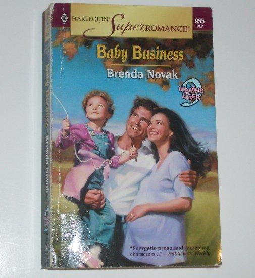 Baby Business by BRENDA NOVAK Harlequin SuperRomance 955 Dec00 9 Months Later Series