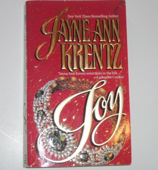 Joy by JAYNE ANN KRENTZ Adventure, Desire & Deadly Peril 1988 Montclair Emeralds Series