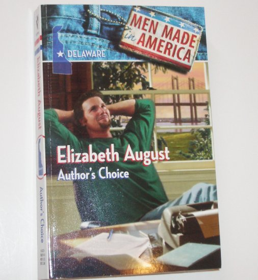 Author's Choice by ELIZABETH AUGUST Men Made in America Delaware 1988