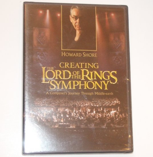 Creating the Lord of the Rings Symphony with Howard Shore DVD