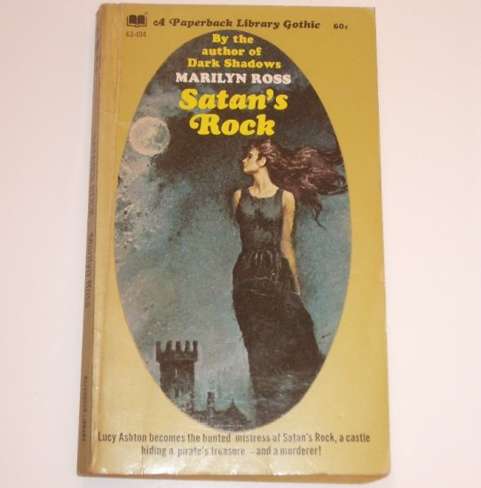 Satan's Rock by MARILYN ROSS Vintage Gothic Romance 1970