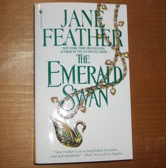 The Emerald Swan by JANE FEATHER Historical Romance paperback 1998 Charm Bracelet Series