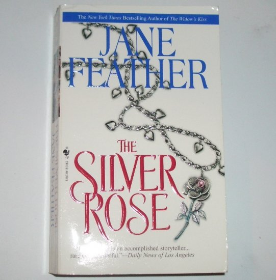The Silver Rose by JANE FEATHER Historical Renaissance Romance 1997 Charm Bracelet Series