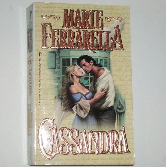 Cassandra by MARIE FERRARELLA Historical Early American Romance1998