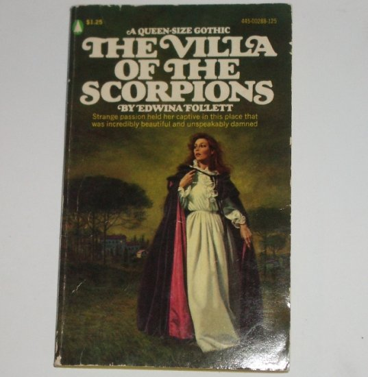 The Villa of the Scorpions by EDWINA FOLLETT Historical Gothic Romance Popular Library 1975