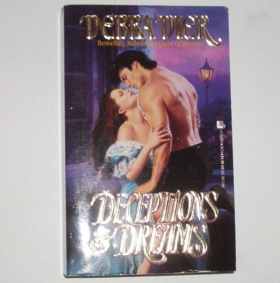 Deceptions & Dreams by DEBRA DIER Historical Victorian Romance 1994