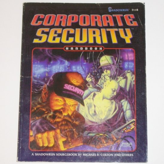 Shadowrun Corporate Security by MICHAEL E COLTON 1995