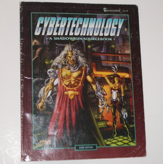 Shadowrun Cybertechnology by TOM DOWN 1995