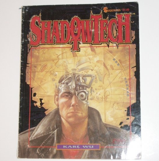 Shadowrun Shadowtech by KARL WU 1992