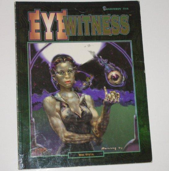 Shadowrun Eye Witness by MIKE NYSTUL 1994
