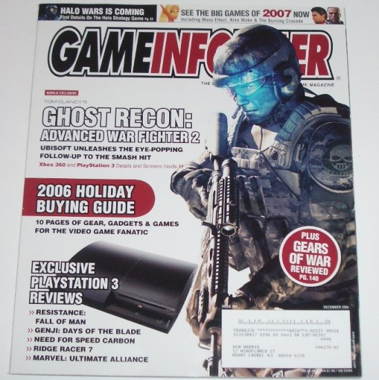 Game Informer Magazine December 2006