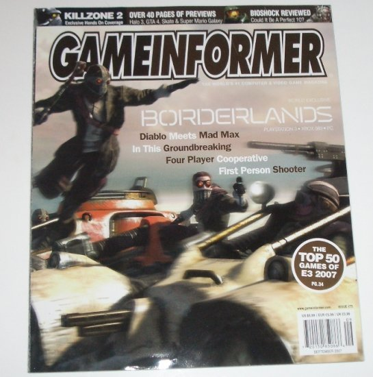 Game Informer Magazine September 2007