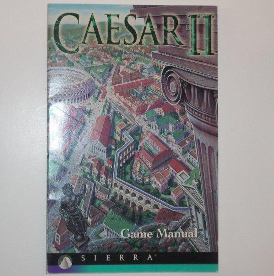 Caesar II Video Game Manual Only