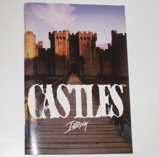 Castles Video Game Manual Only